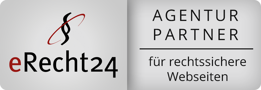 Banner eRecht24 Agentur Partner gross dunkel